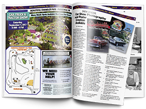 17th Annual Pardeeville Community Car & Truck Show Magazine
