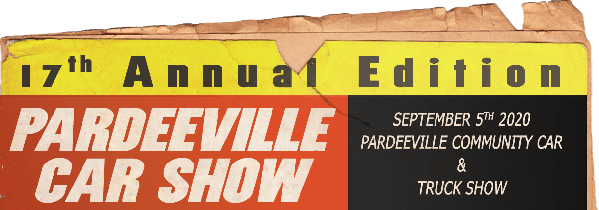 Pardeeville Carshow September 5th, 2020.